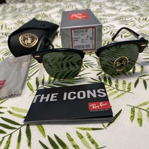 Brand new ray ban rb3016 clubmaster 51mm for sale